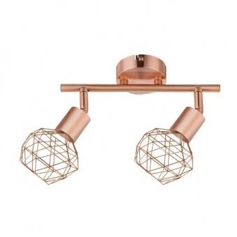 спот aladdin, satin copper, aca lighting, 2xE14, mc15612c