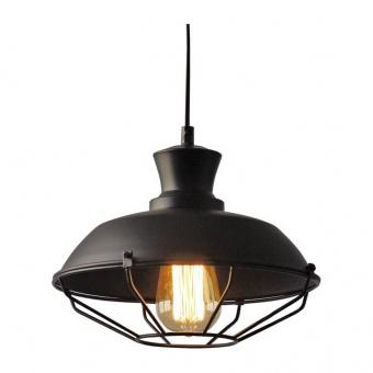 пендел angela, matt black, aca lighting, 1xE27, ks1463p1bk