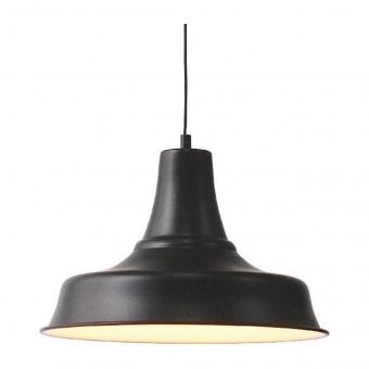 пендел stooges, matt black+white, aca lighting, 1xE27, ks1477p1bk