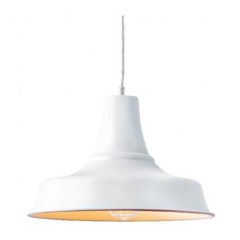 пендел stooges, matt white, aca lighting, 1xE27, ks1477p1wh