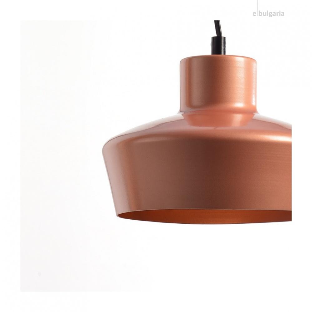 пендел bahamas, copper paint, aca lighting, 1xE27, ks1447p1cp
