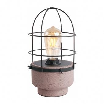 настолна лампа epoque, red+matt black, aca lighting, 1xE27, mk331t16rb