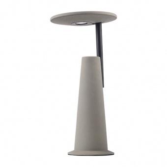 настолна лампа kozmic, natural+matt black, aca lighting, led 5w, 3000k, 270lm, mk6ledt44g
