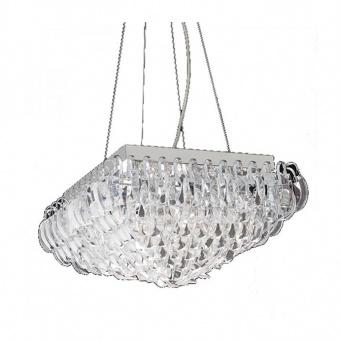 полилей vica, chrome+clear, aca lighting, 4xE14, vica404p