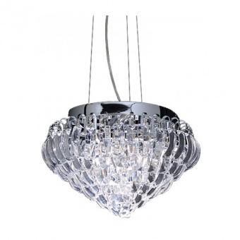 полилей vica, chrome+clear, aca lighting, 3xE14, vica353p