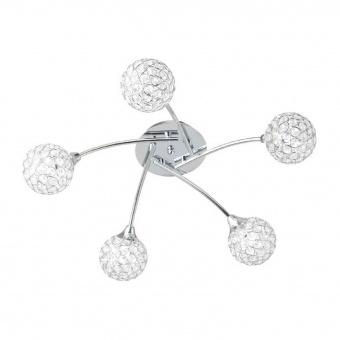 плафон skylar, chrome, aca lighting, 5xG9, ad2012005c