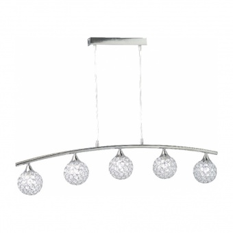 полилей skylar, chrome, aca lighting, 5xG9, ad2012005p