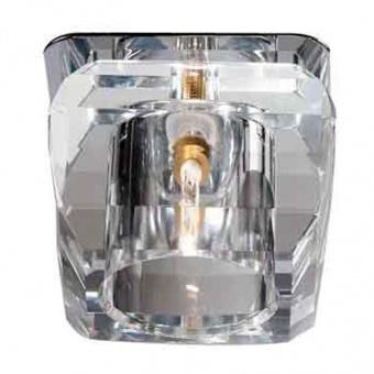 луна moria, satin nickel-chrome+clear, aca lighting, 1xG9, sd8048t5g9