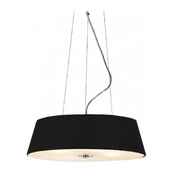 полилей signac, chrome+black+sandblast, aca lighting, 4xE27, dl607b