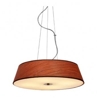 полилей signac, chrome+dark wood+sandblast, aca lighting, 4xE27, dl607a