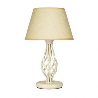 настолна лампа атлас, крем, sirius lights, 1xe27, 305451