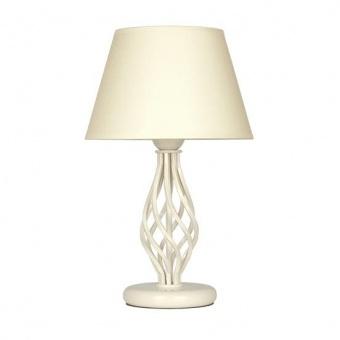 настолна лампа атлас, крем, sirius lights, 1xe27, 305061