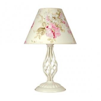 настолна лампа брунате, крем, sirius lights, 1xe27, 256431