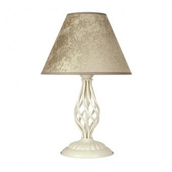 настолна лампа брунате, бронз/крем, sirius lights, 1xe27, 257031