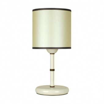 настолна лампа метропол, перла/крем, siriuslights, 1хе27, 325391
