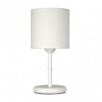 настолна лампа метропол, бял, siriuslights, 1хе27, 324450