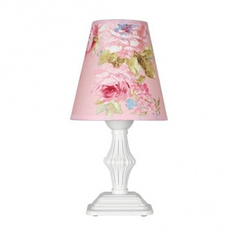 настолна лампа ашли, бял, siriuslights, 1хе27, 334361