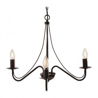 полилей palmyra, brown+black, aca lighting, 3xE14, dla0013
