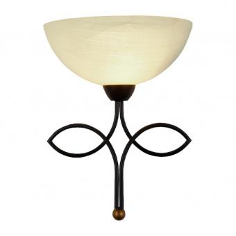 аплик electra, dark brown+antique gold+honey, aca lighting, 1xE27, ad89061w