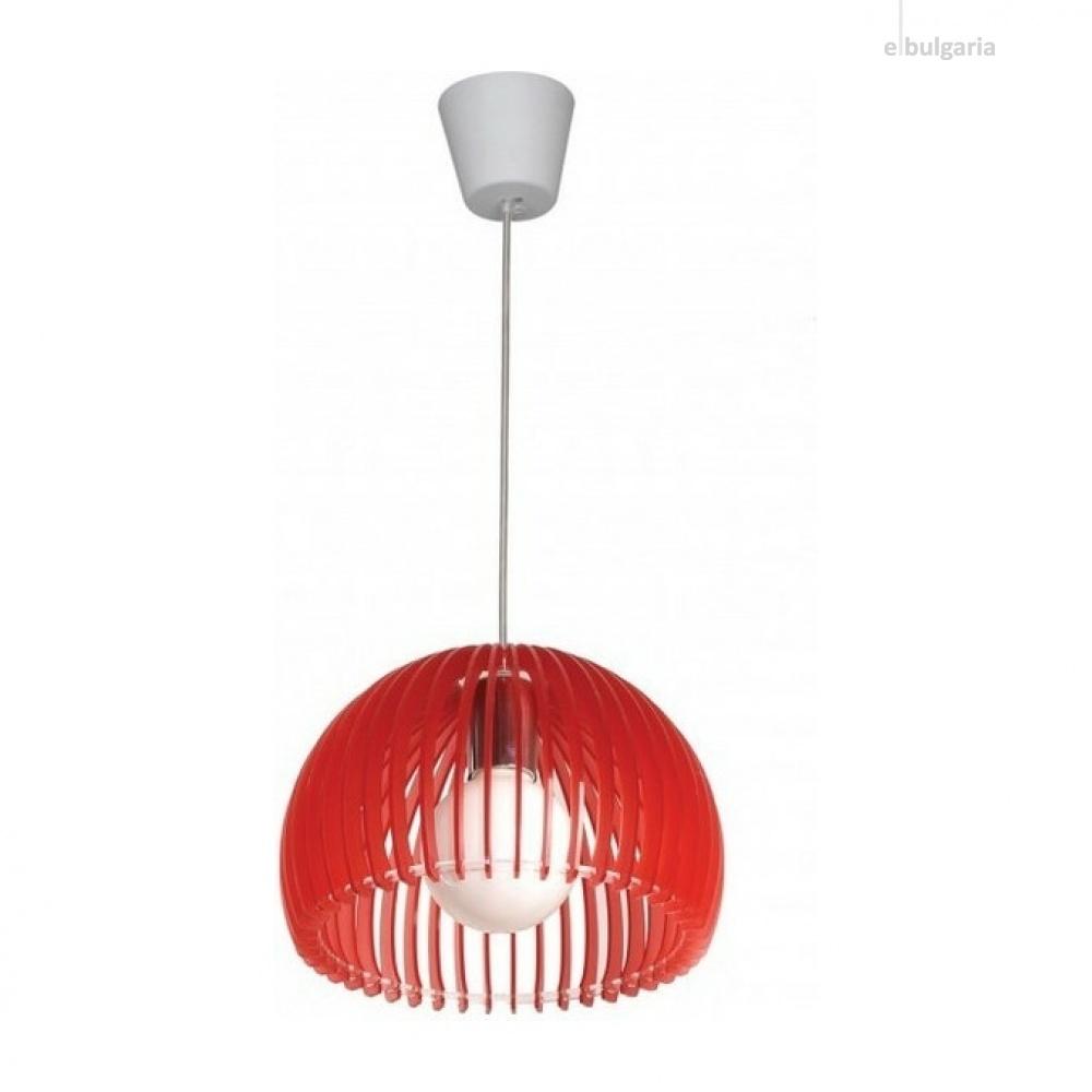 пендел ellite, red, aca lighting, 1xE27, v286531p28rd