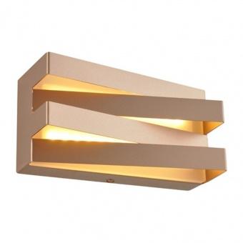 аплик milano, dark gold, aca lighting, led 12w, 3000k, 960lm, v80ledw20dg