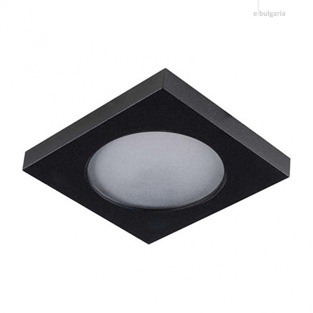 луна flini, черен, kanlux, 1xmr16/gu10, 33120