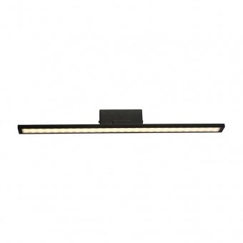 аплик за баня chloe, matt black+white, aca lighting, led 16w, 3000k, 1040lm, pn19ledw56bk