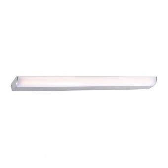 аплик за баня klara, silver paint+white, aca lighting, led 12w, 3000k, 780lm, pn29ledw57sr