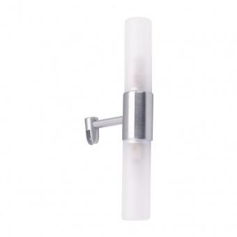 аплик за баня sueva, nickel+sandblast, aca lighting, 2xG9, sueva2