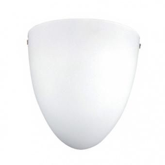 аплик turtle, nickel+white, aca lighting, 1xE27, dl477c