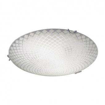 плафон roua, sandblast-clear+chrome, aca lighting, 2xE27, tnk95360cr30