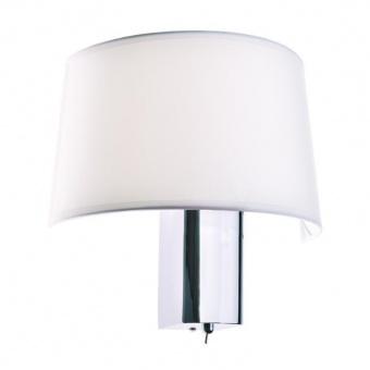 аплик botticelli, chrome+white, aca lighting, 1xE27, od5611w