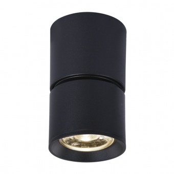 спот pluto, sand black, aca lighting, led 5w, 3000k, 400lm, 80°, ra33leds6bk