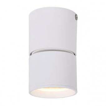 спот pluto, sand white, aca lighting, led 5w, 3000k, 400lm, 80°, ra33leds6wh