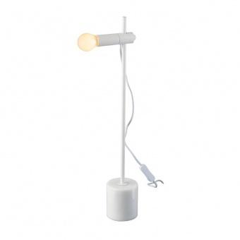 настолна лампа hera, white, aca lighting, 1xE14, od581t58w