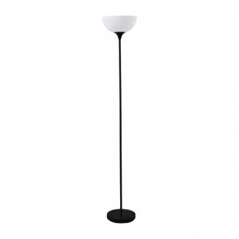 лампион basico, matt black+white, aca lighting, 1xE27, ks2026f1bk