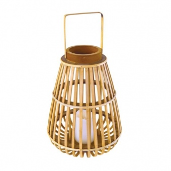 градински фенер strudel, natural+white, aca lighting, led 0.02w, 2500k, 3xAAA/lr03, 1.5v, f0711111