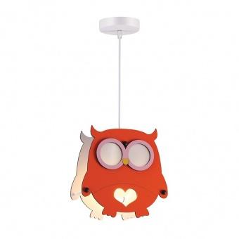 пендел farma owl, orange, aca lighting, 1xE27, zm411p25