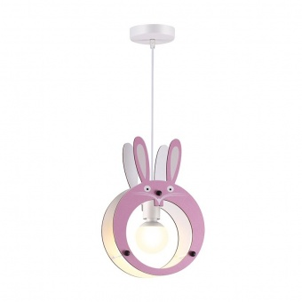 пендел farma bunny, pink, aca lighting, 1xE27, zm421p24