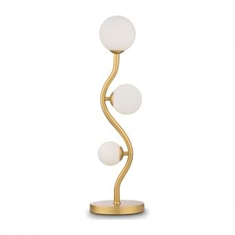 настолна лампа uva, gold, maytoni, 3xG9, mod059tl-03g