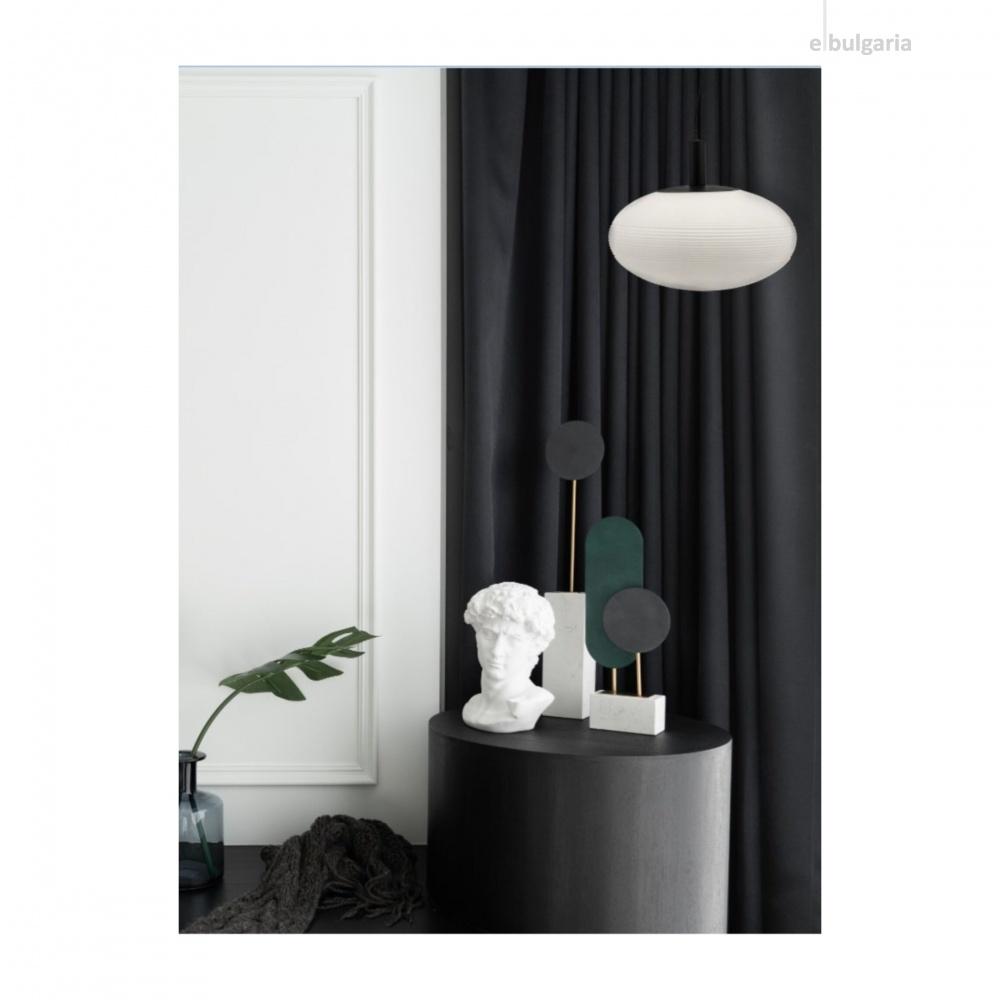 пендел perlas, black+white, maytoni, 1xE27, p062pl-01w