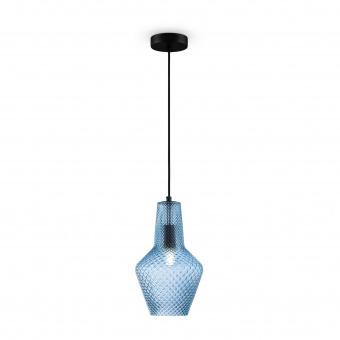 пендел tommy, black+blue, maytoni, 1xE27, p045pl-01b