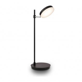 настолна лампа fad, black, maytoni, led 8w, 3000k, 450lm, mod070tl-l8b3k