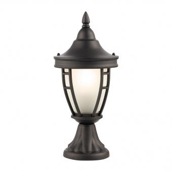 градинска настолна лампа rivoli, black, maytoni, 1xE27, 0027fl-01b