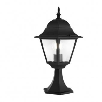 градинска настолна лампа abbey road, black, maytoni, 1xE27, 0004fl-01b