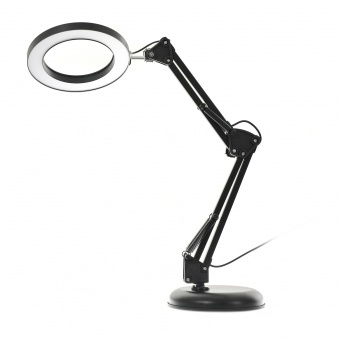 Работна Лампа Stag, черен, elbulgaria, led 8w, 3000k-4000k-6000k, 2333 BK