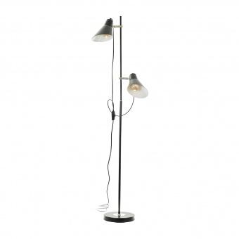 Лампион Adder, черен, elbulgaria, 2xe27, 2336 BK