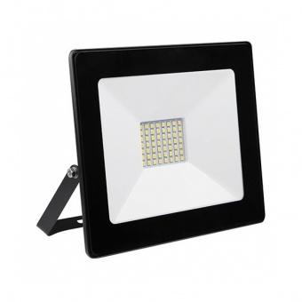 led метален прожектор, черен, deco, led 30w, 4000k, 3300lm, deco black, 82847