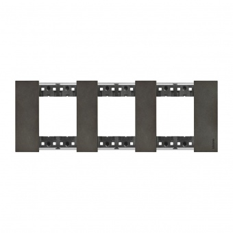 Рамка 3x2 мод. метална цвят Космос (Space)Living Now Bticino, KA4802M3NG