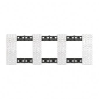 Рамка 3x2 мод. цвят Пиксел (Pixel) Living Now Bticino, KA4802M3MW